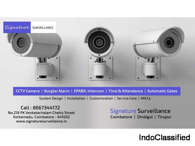 Signature Surveillance - Top CCTV Dealers in Coimbatore - CCTV Installation in Coimbatore