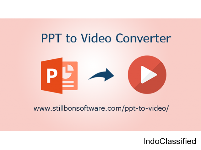 PPT to Video Converter to Save Multiple PPT Files into Video at Once