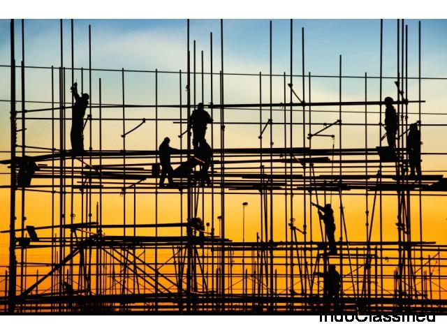 ACP work with Scaffolding - Greater Satisfaction, Greater Safety