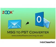 Best way to Convert MSG to PST with attachments Using MSG to PST Converter