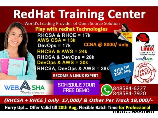 Training Institute of RHCSA RHCE Python AWS DevOps CISCO Class Course  in Pune