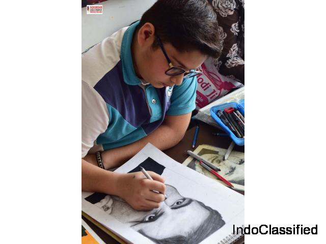 professional sketching coaching in punjabi bagh