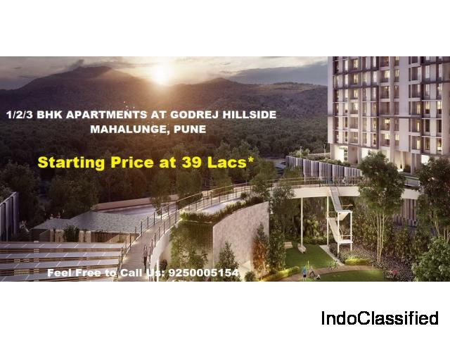 Get Price Quotes of Flats in Godrej Hillside Mahalunge Pune
