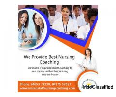 Expert Nursing Coaching for Recruitment to Staff Nurse in Chandigarh