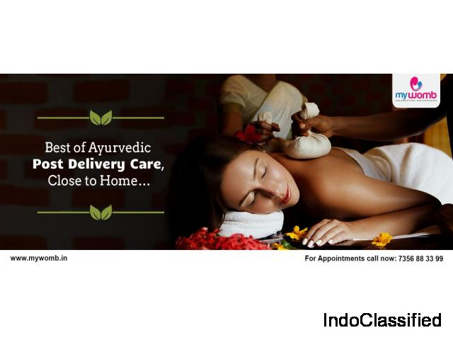 Ayurvedic Post Delivery Care In Kerala - MyWomb Newborn Care