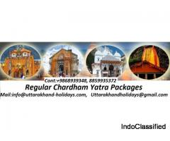 Book Your Char Dham Packages with Uttarakhand Holidays Pvt. Ltd.