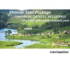 Explore Munnar Tour Package with Bhandari Travelz Pvt. Ltd