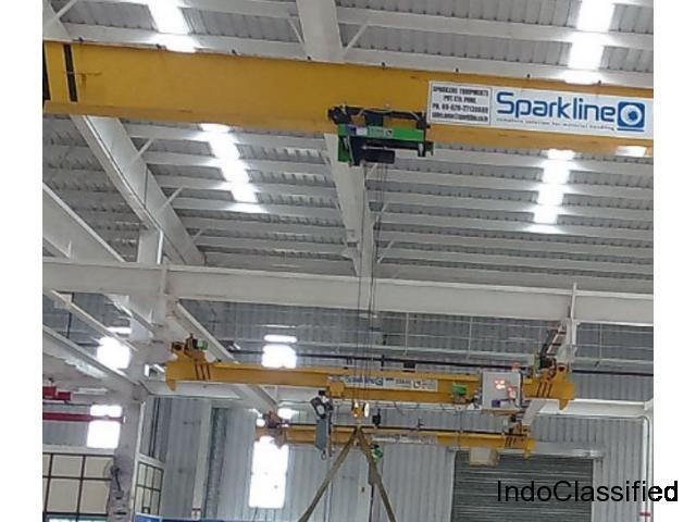 Cranes Manufacturers India– Sparkline Equipments