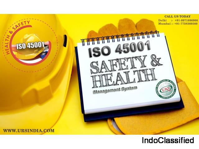 ISO 45001 Certification in Erode