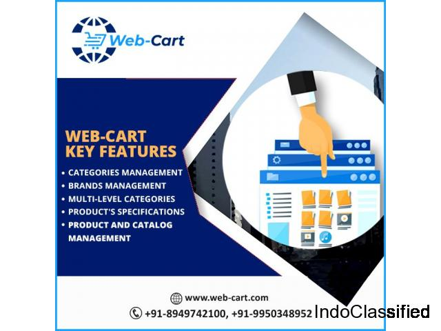 Webcart - Multi Site E-Commerce Platform in India