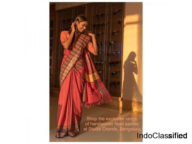 Buy Handwoven Sarees from Studio Orenda!