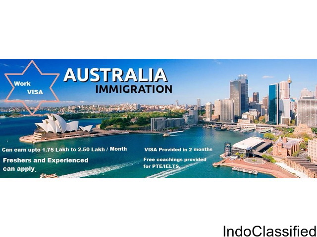 WANTED ANY DEGREE FOR AUSTRALIA WORK PERMIT