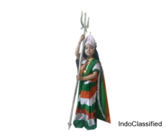 Get Bharat mata costume for child on Rent