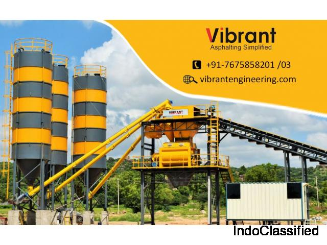 Asphalt Drum mix plant manufacturers