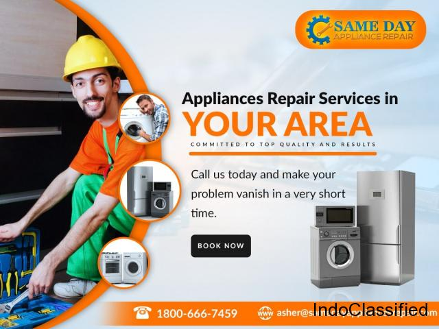 Same day Appliances Repair Services