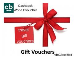 Plan Your Trip with Cashback World Exciting Gift vouchers