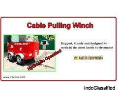 cable pulling Equipment | winch machine