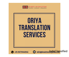 Professional Oriya Translation Services – Shakti Enterprise