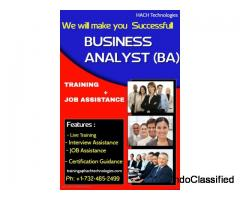 Best Business Analyst Online Training in Texas