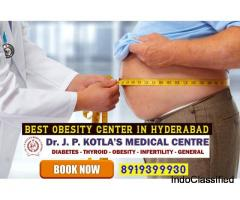 Best Obesity Center in Himayat Nagar -Dr.JP Kotla Medical Centre