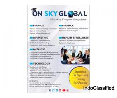 Vocational training institutes 100% Certificate Programs : On Sky Global