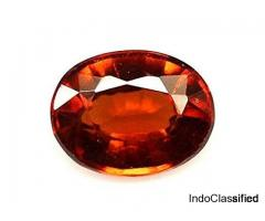 Buy Now Astrological Benefits of Hessonite ( Gomed ) Stone For Astroindusoot.com