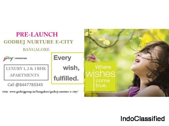 Godrej Nurture E-City Bengaluru | Godrej Nurture City Bangalore