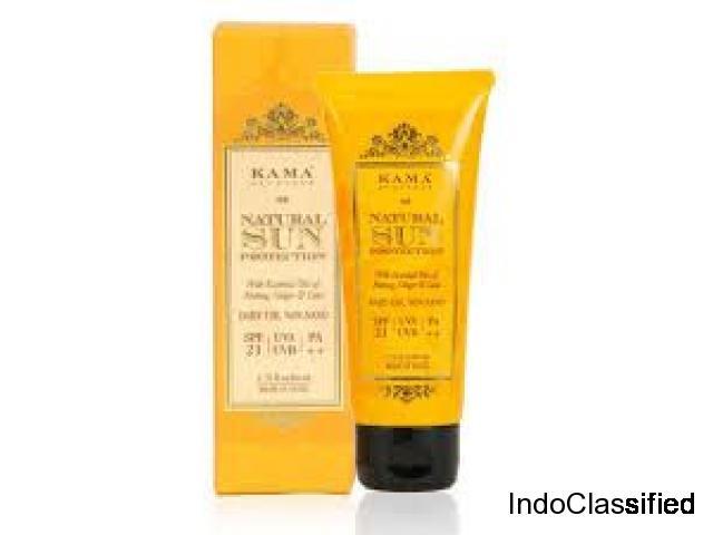 Buy Natural Sun Protection Online   Kama Ayurveda