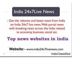 Top news websites in india