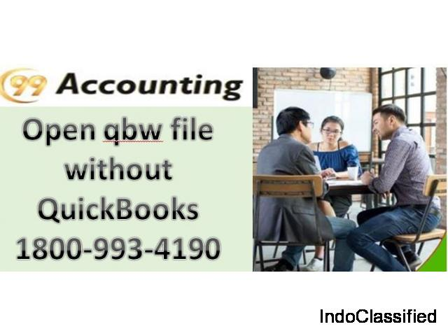 Open quickbooks file online