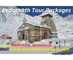 Book Kedarnath Packages with Uttarakhand Holidays Pvt. Ltd