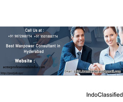 Best Manpower  consultant in Hyderabad