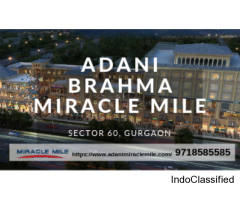 Adani Miracle Mile - Commercial space for sale in Sector 60 Gurgaon
