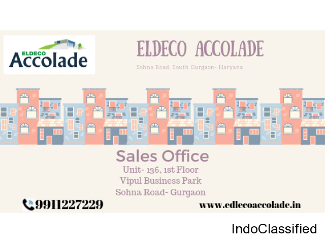 Eldeco Accolade Ready To Move in Apartment on Sohna Road- Gurgaon