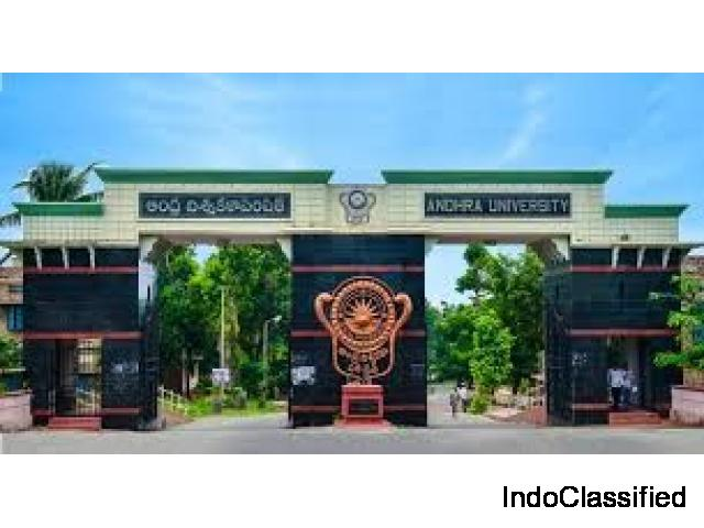 Andhra University declared the results for the UG and PG exams 2019.