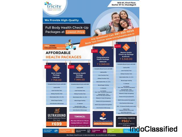 Get 10% Discount on Advanced Health Checkup Packages