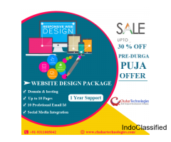 Pre - Durga Puja Offer - Get responsive Website Design