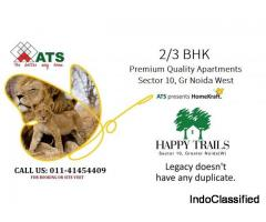 Book Your Dream House in ATS Happy Trails in Sector 10 Greater Noida