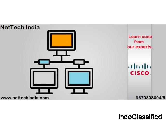 Learn  CCNP From Experts of NetTech India