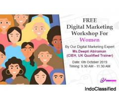 Free Digital Marketing Workshop for Women (Only)