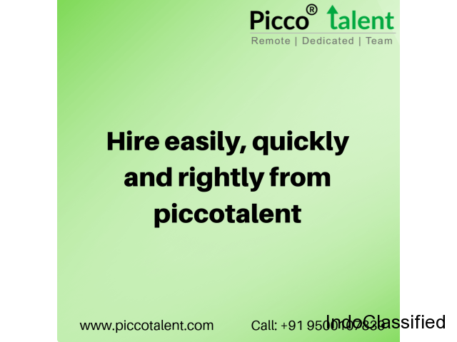 Hire easily, quickly and rightly from piccotalent