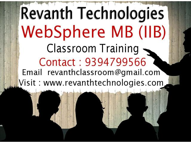 WebSphere MB Classroom Training in Ameerpet