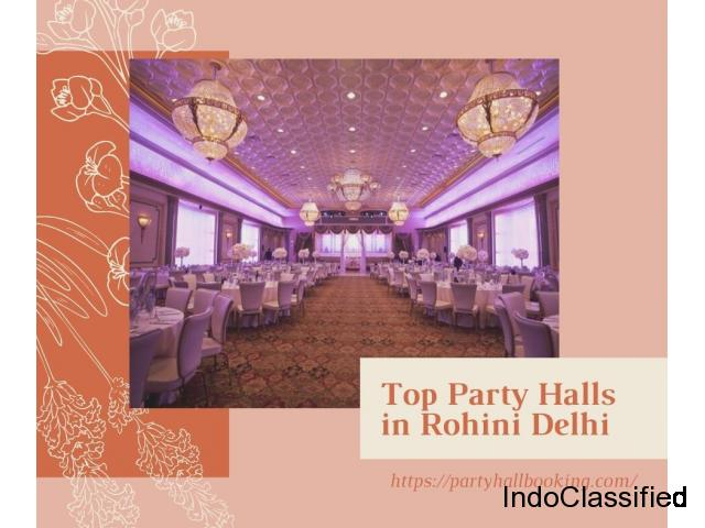 Party Halls in Rohini Delhi