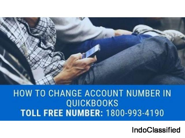 QuickBooks change bank account number and routing number