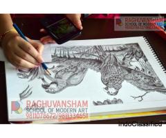 sketching classes in west delhi