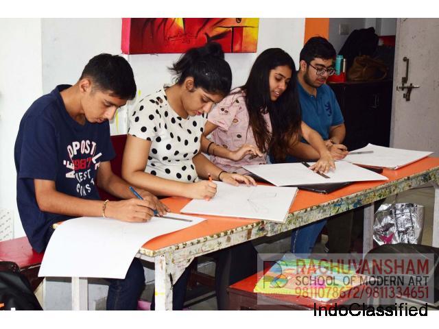sketching classes in west delhi