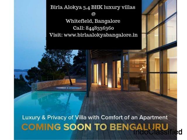 Birla Alokya Villaments | Luxury villas at Whitefield, Bangalore - Call: 8448336360