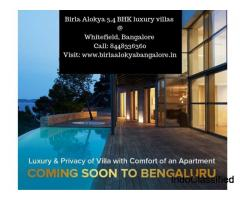 Birla Alokya Villaments | Luxury villas at Whitefield, Bangalore - Call: 8448336360