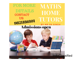 Math Home Tutor in Delhi-Maths Home Tutors