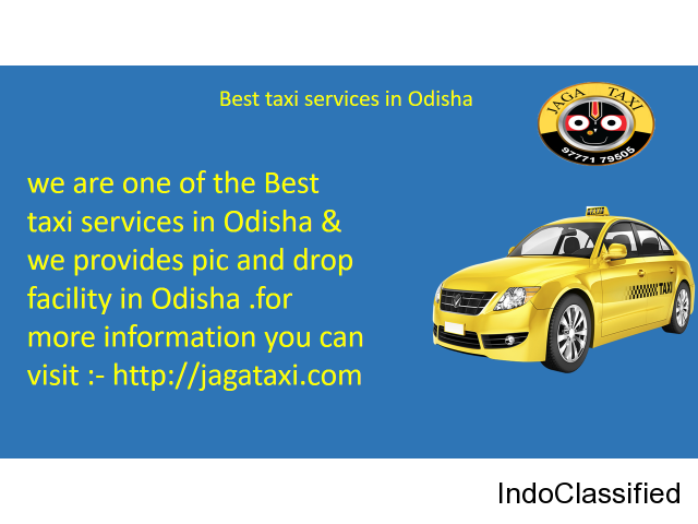 Best taxi services in Odisha